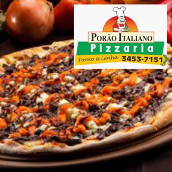 Logo PIZZARIA PORÃO ITALIANO MATINHOS E DELIVERY