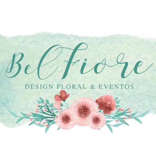 Logo Bel Fiore Design Floral & Eventos