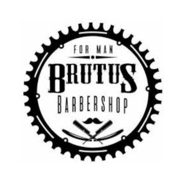 Logo Barbearia Brutus Barber Shop