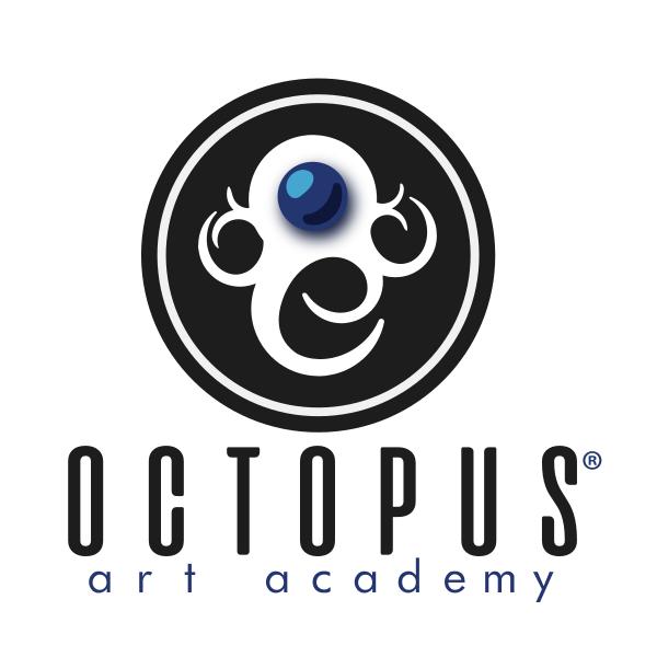 Logo Octopus Art Academy - Sao Jose