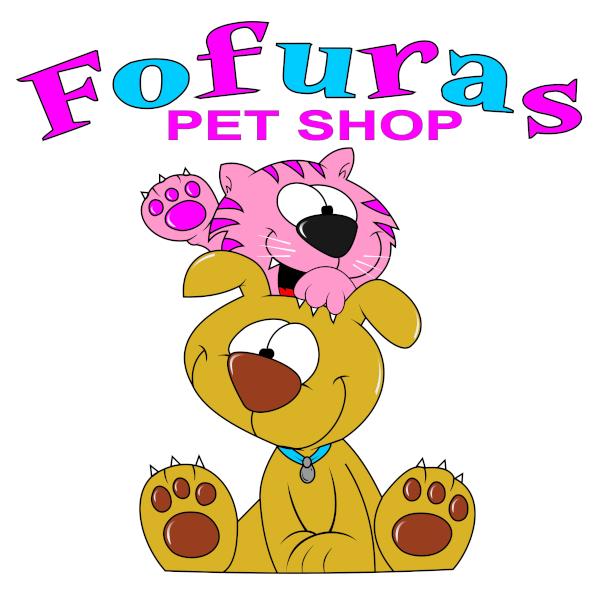Logo Fofuras Pet Shop