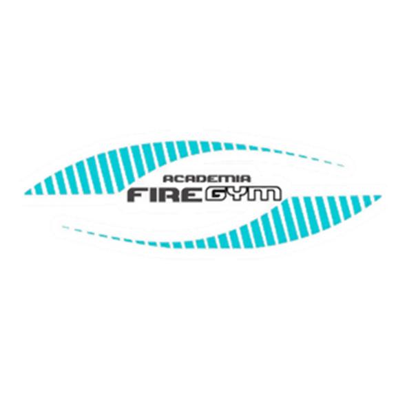 Logo Academia Fire Gym - Boqueirão