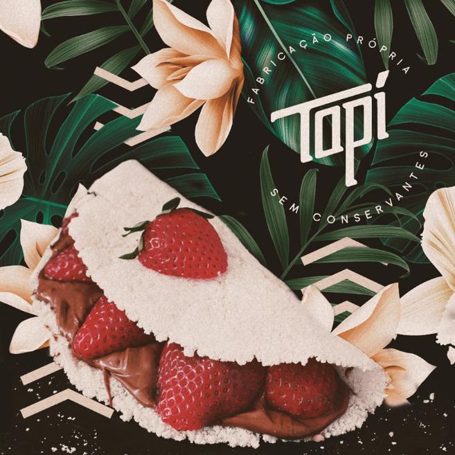 Logo Tapí Tapiocaria - Vicente Machado