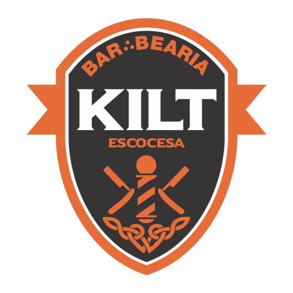 Logo Kilt Barbearia Escocesa