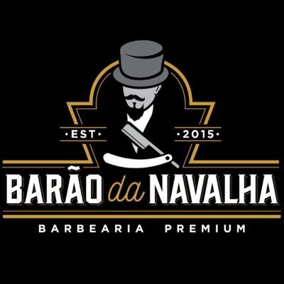 Logo Barão da Navalha Barbearia Premium