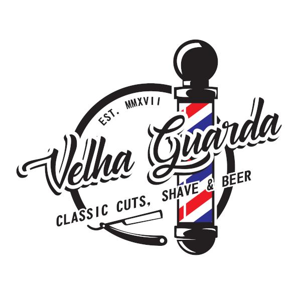 Logo Barbearia Velha Guarda