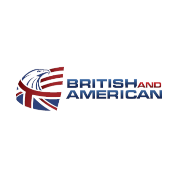 Logo British and American Escola de Idiomas