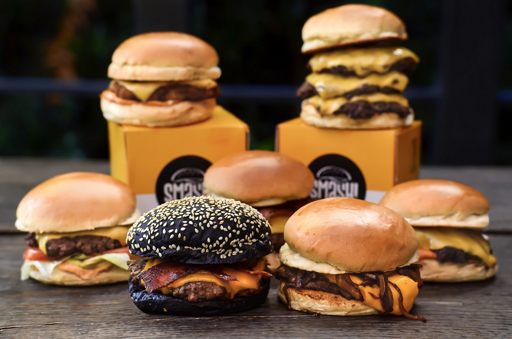Logo HOG Smash Burger