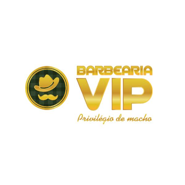 Logo Barbearia Vip Curitiba