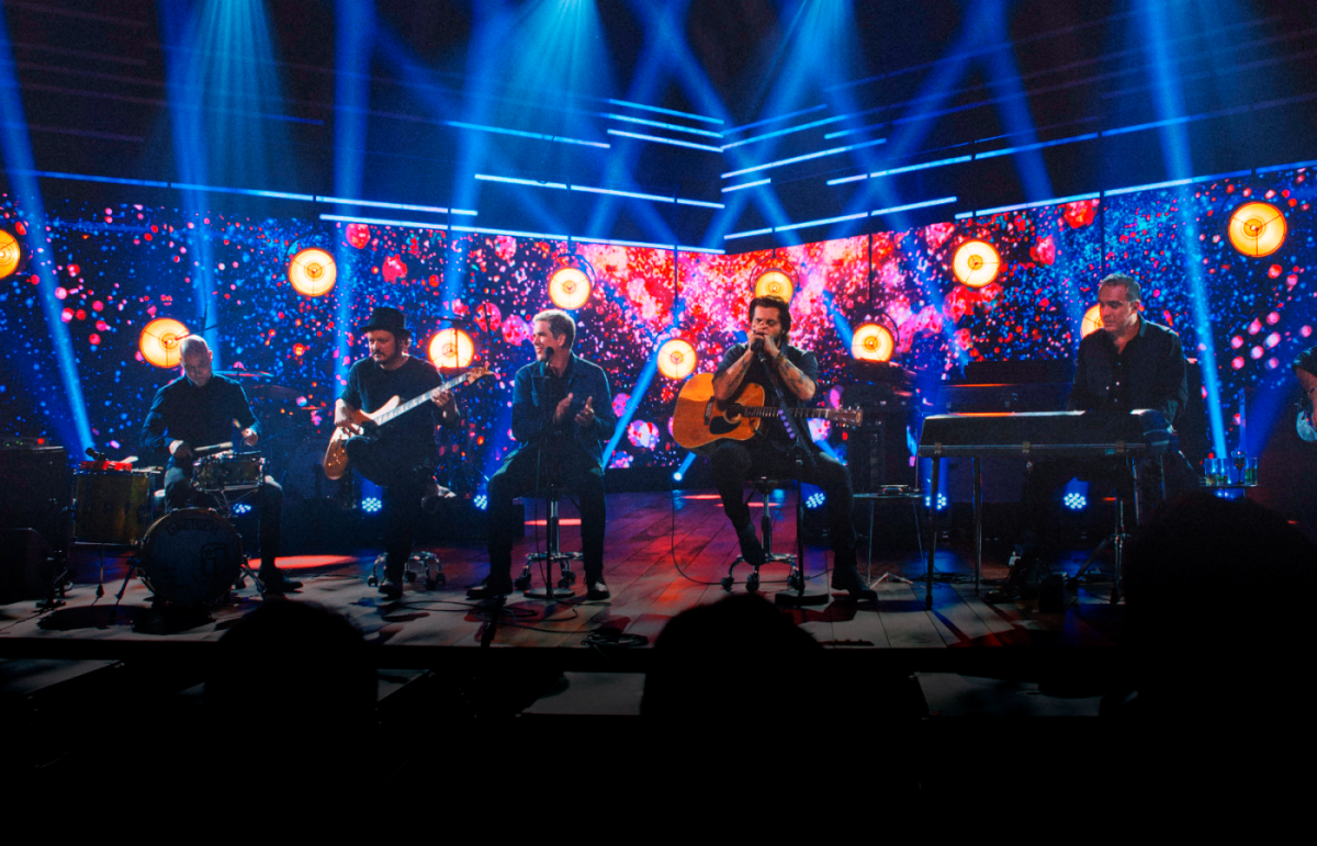Show acústico do Jota Quest foi inspirado no Teatro Guaíra