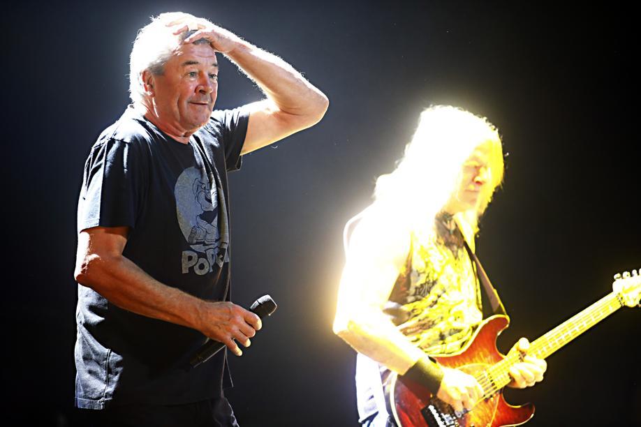 Veteranos do Deep Purple mostram força em grande show na Pedreira