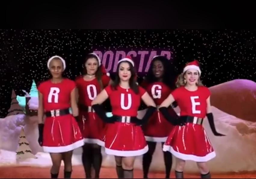 """Antes do show em Curitiba, Rouge recria cena emblemática de """"Meninas Malvadas"""""""