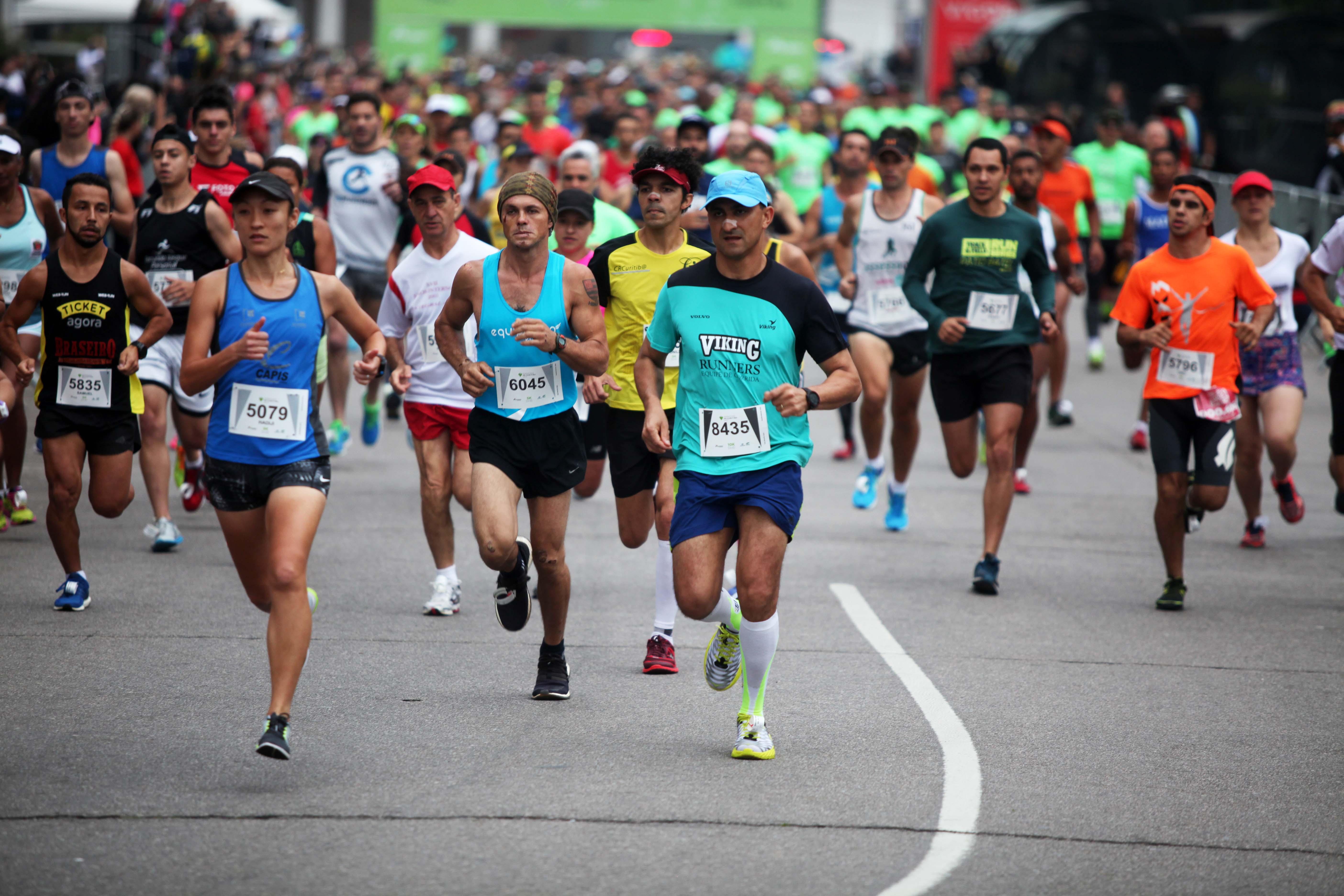 Curitiba vai receber mais de 80 provas de corrida, caminhada e ciclismo em 2018