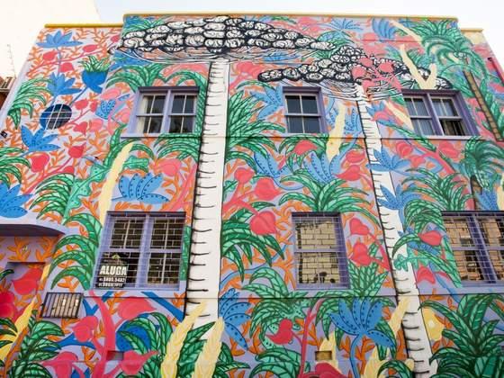 200 artistas estão em Curitiba para mais importante evento de grafite do Brasil
