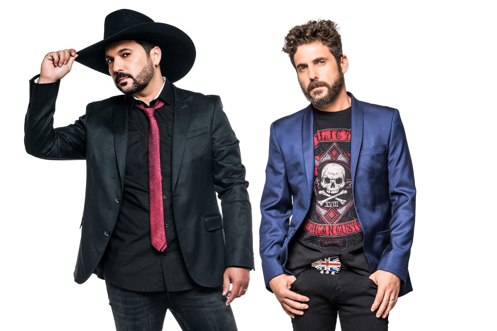 Edson e Hudson apresentam Sertanejo com rock'n roll em Curitiba
