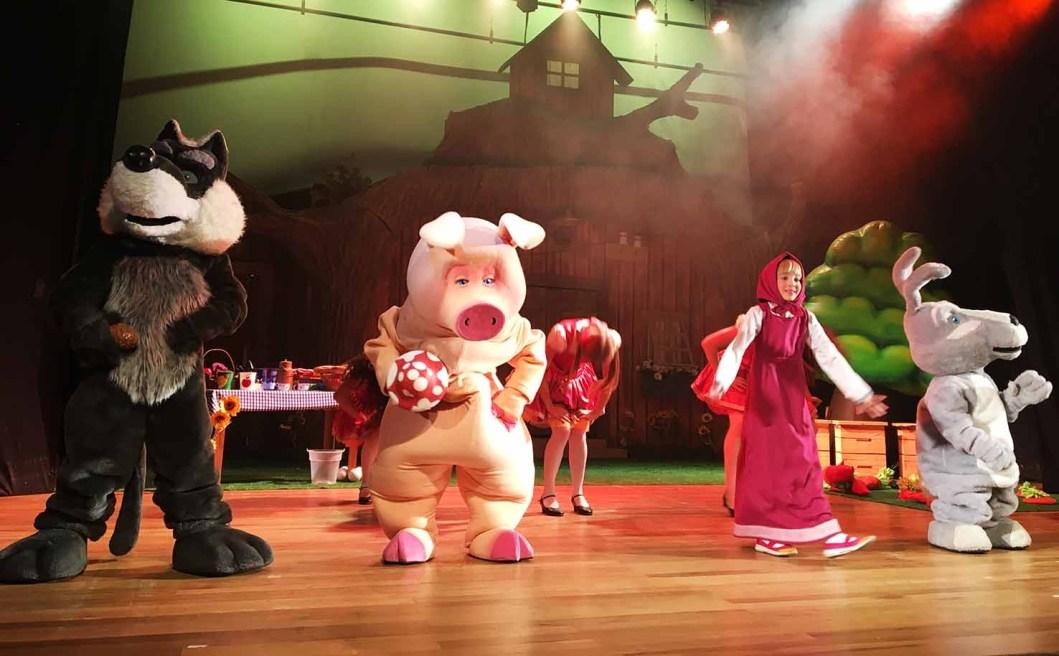 Masha e o Urso vêm aí: dupla se apresenta no Teatro Guaíra em setembro