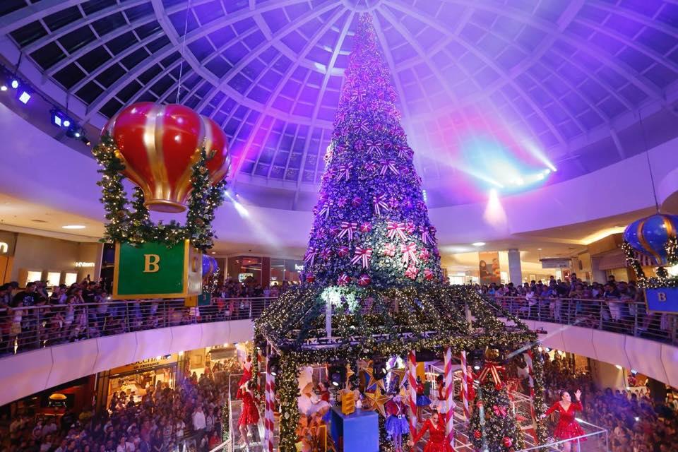 ParkShoppingBarigui tem espetáculo de Natal para receber o Papai Noel