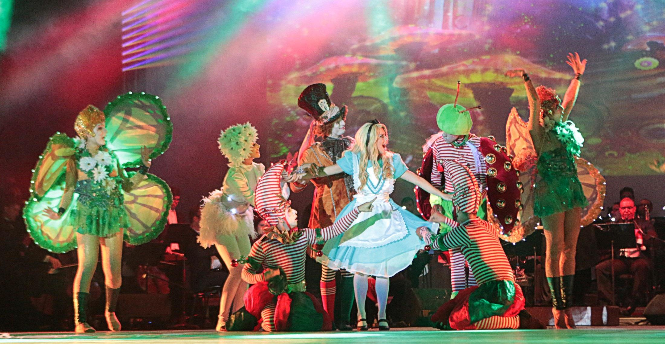 Natal de Curitiba vai ter musical estilo Broadway na Ópera de Arame