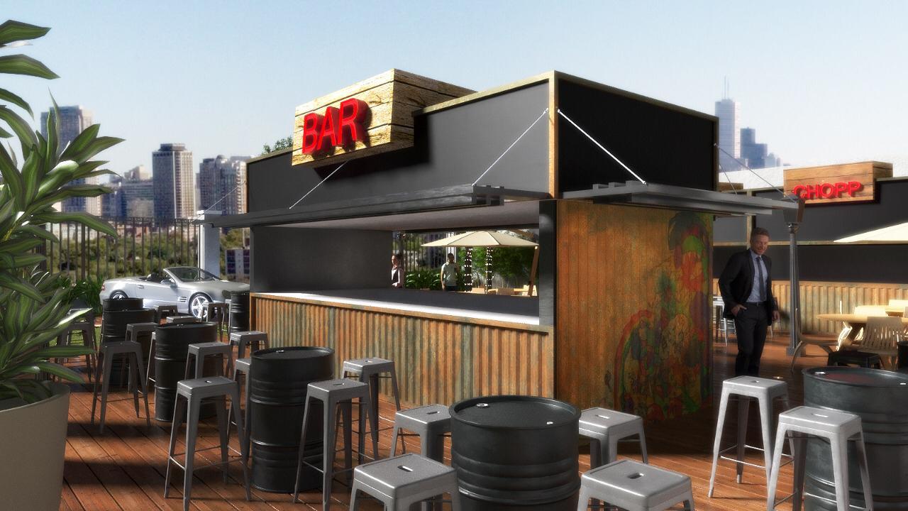Novo espaço gastronômico de Curitiba terá cervejas artesanais, caipirinha gigante e comidas típicas