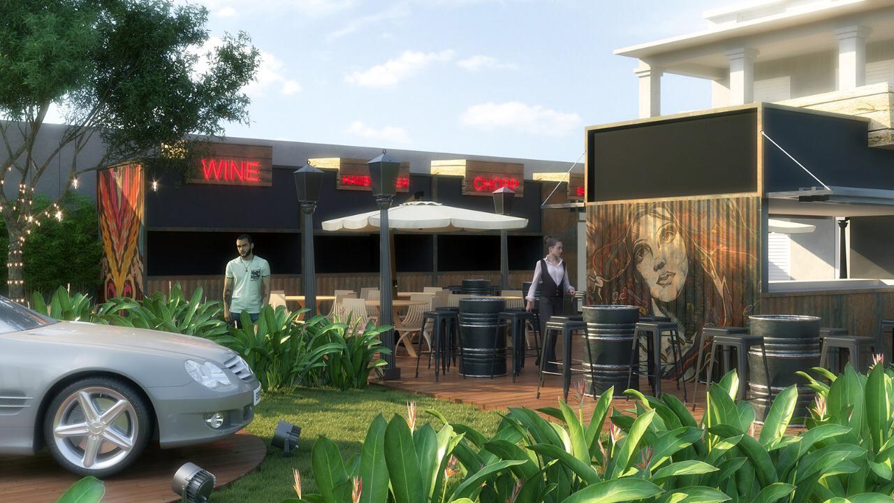Novo bar em Curitiba serve caipirinhas de até cinco litros