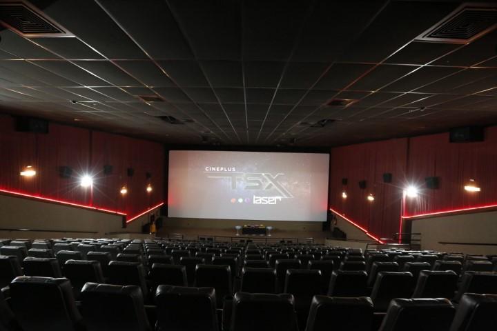 Como é a nova sala de cinema TSX Laser em Curitiba, uma das mais modernas do Brasil