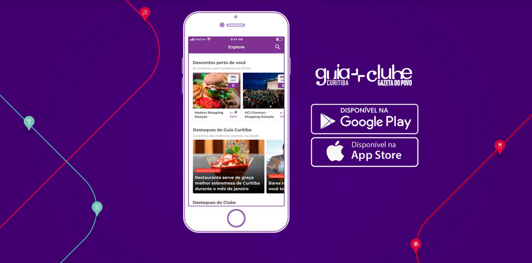 App Clube Gazeta do Povo: Como gerar meus cartões de desconto?