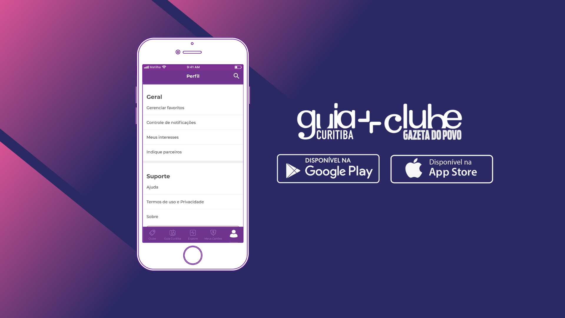 """App Clube Gazeta do Povo: Saiba como """"favoritar"""" aqueles descontos que você usa sempre"""