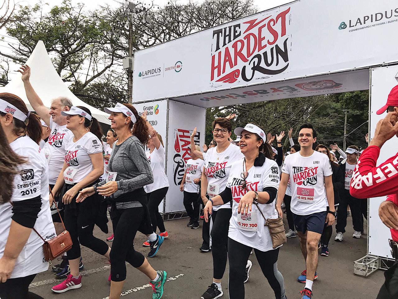 Emoção e superação marcaram a maior corrida de rua de Curitiba