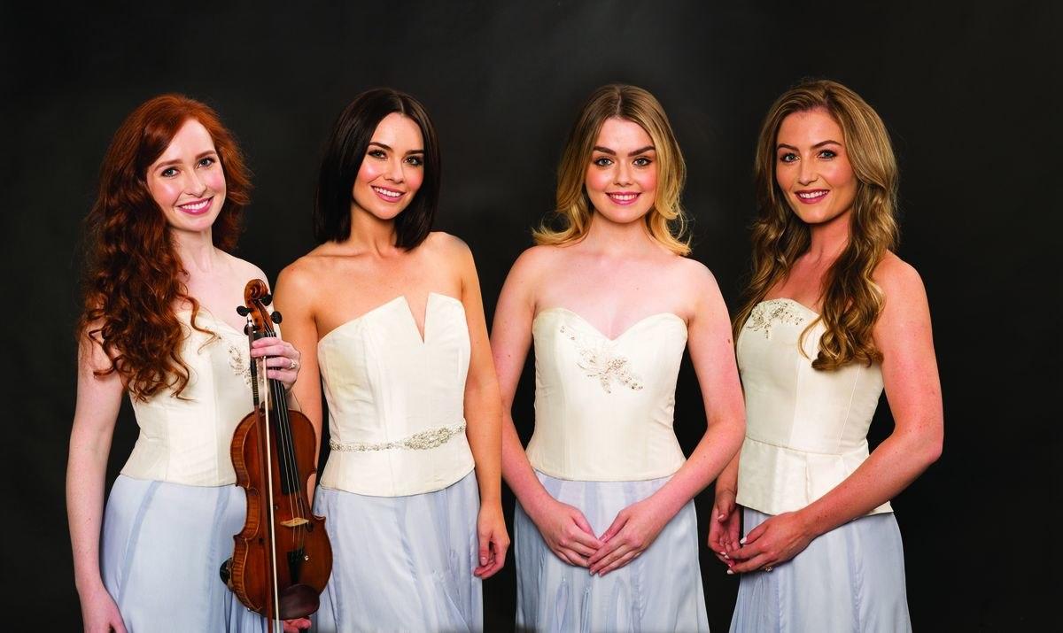 Quarteto feminino de música irlandesa faz dois shows em Curitiba