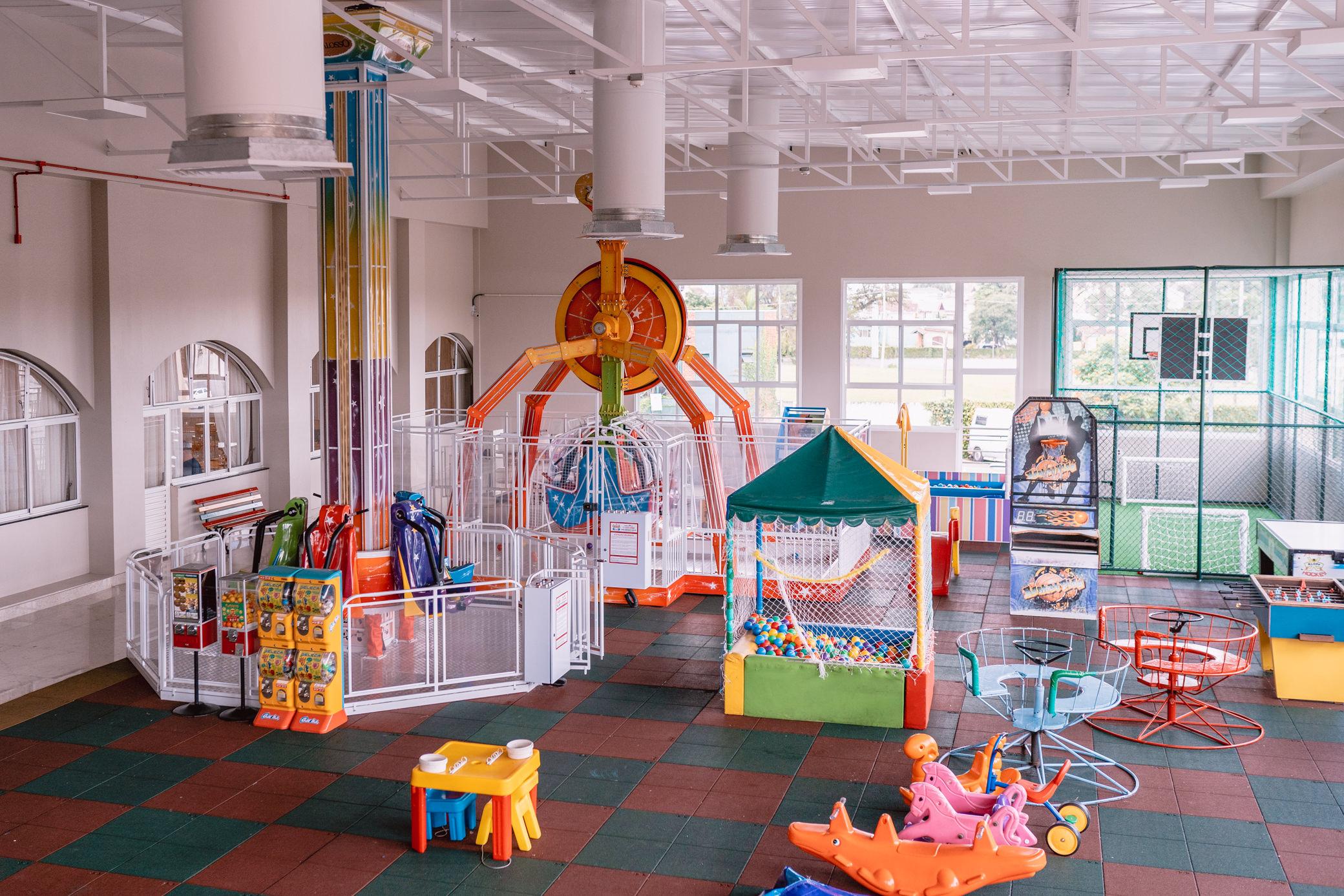 Madalosso tem mega parque para divertir a criançada