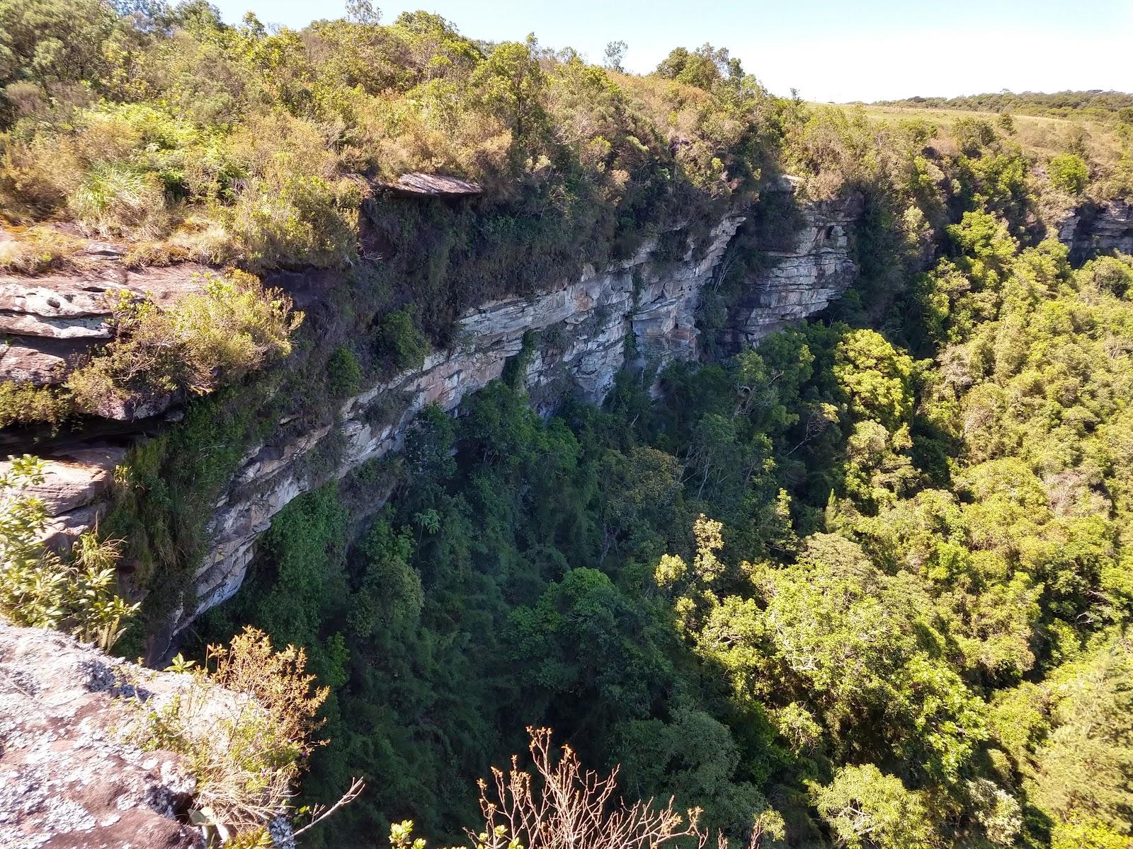 Cânion da Faxina: formações rochosas de 400 milhões de anos estão perto de Curitiba