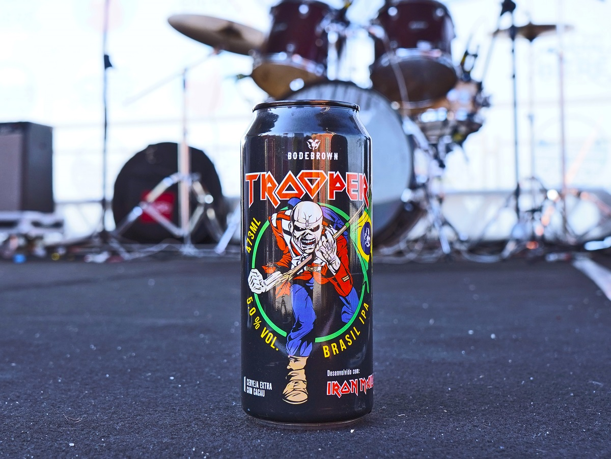 Cerveja criada pelo vocalista do Iron Maiden será lançada no Hard Rock Cafe Curitiba