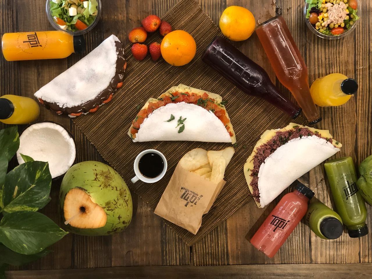 Tapí: conheça o restaurante especializado em tapioca onde você escolhe os sabores