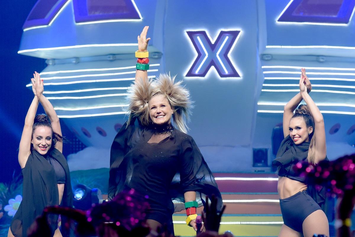 """Xuxa em Curitiba: """"É muita emoção das pessoas ao verem a nave aterrissar no palco"""""""