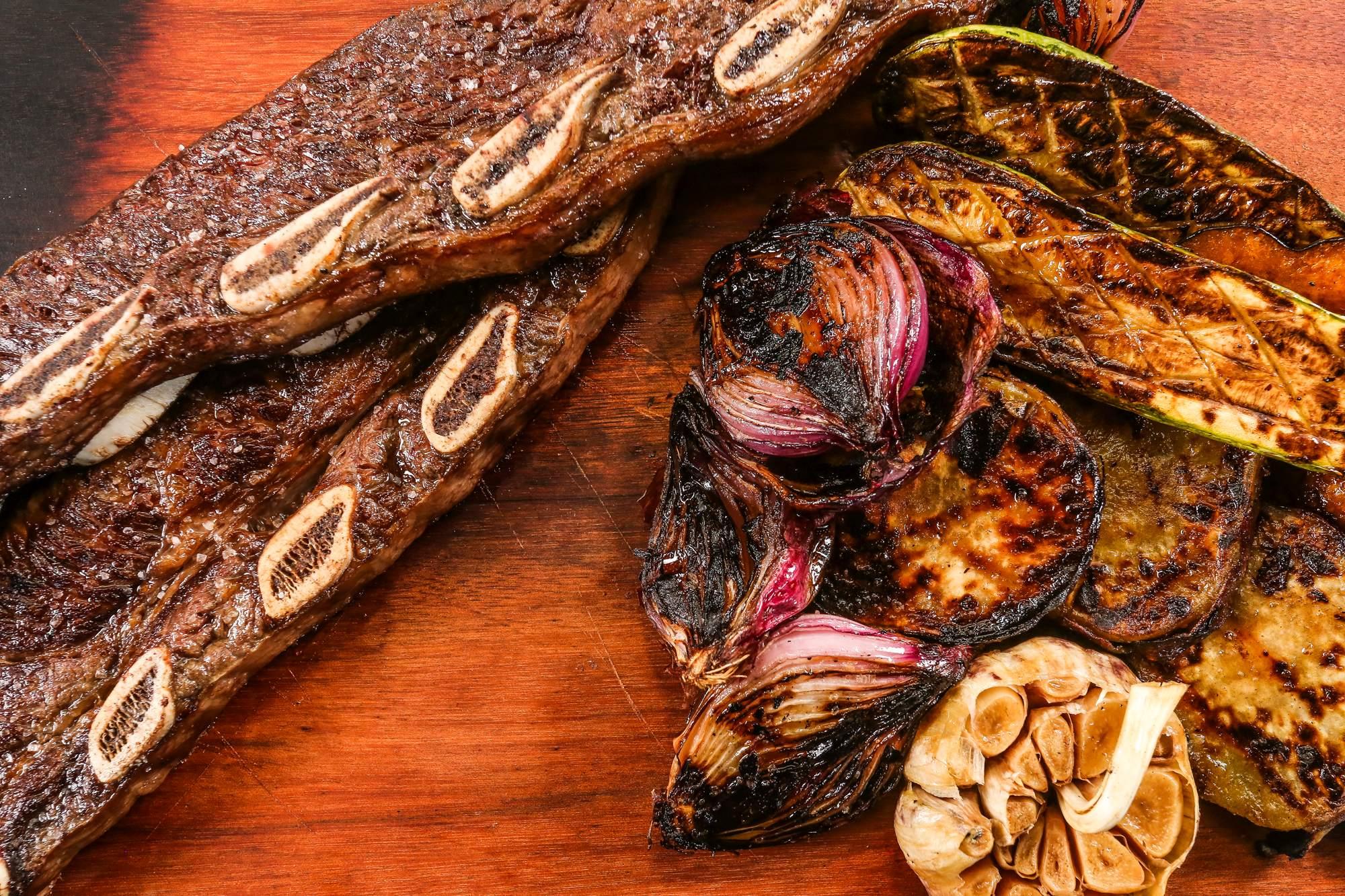 Mercadoteca terá menu especial de preparos na brasa