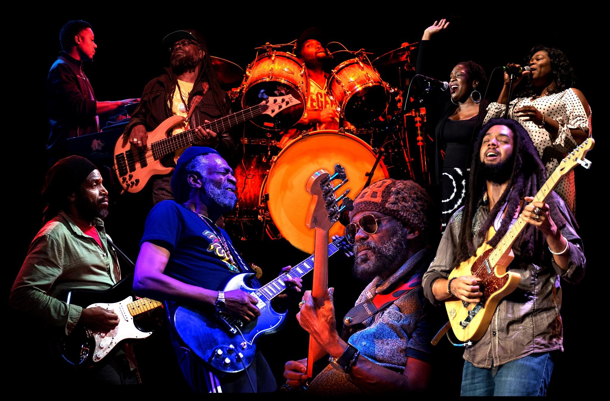 The Wailers, lendária banda de Bob Marley, anuncia show em Curitiba