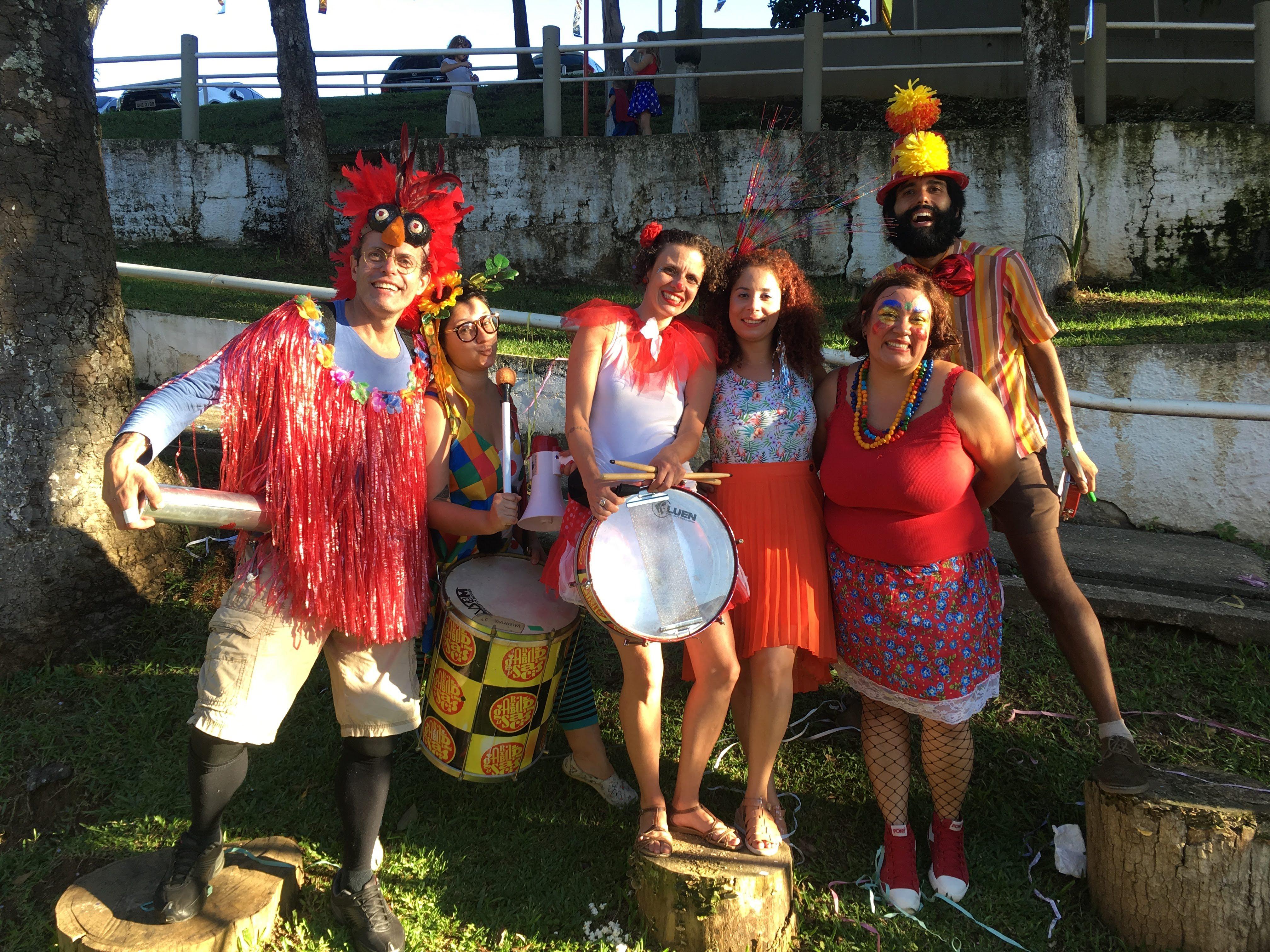 Curta o carnaval com a criançada na Casa Poppins