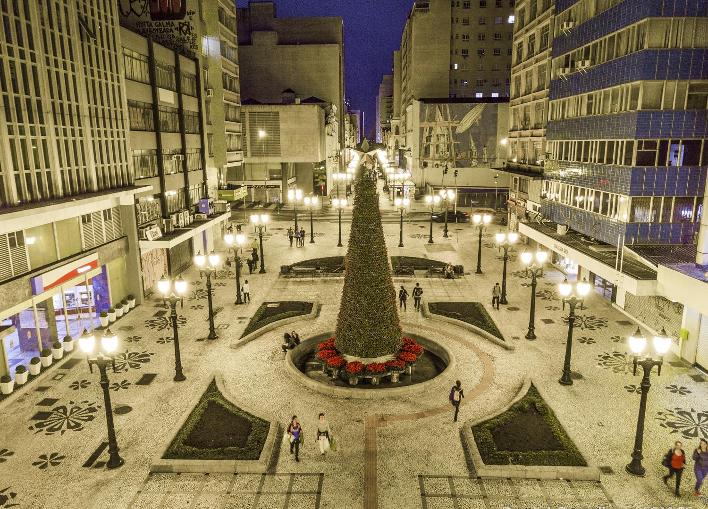 Lugares para sentir o clima de Natal em Curitiba
