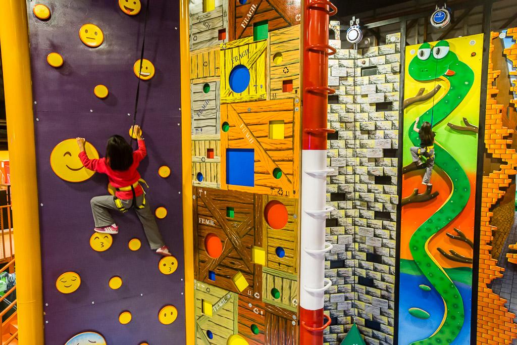 Curitiba ganha circuito de escaladas com paredões de quase 8 metros
