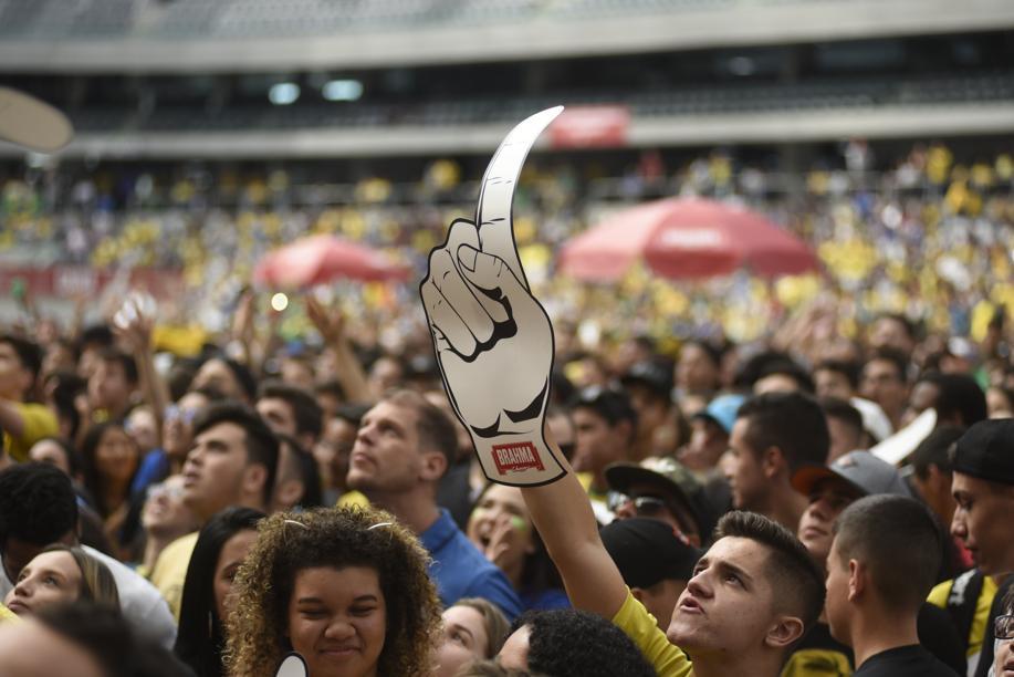 """""""¡Arriba Arriba! ¡Andale Ándale! Veja como foi a festa da vitória do Brasil sobre o México"""