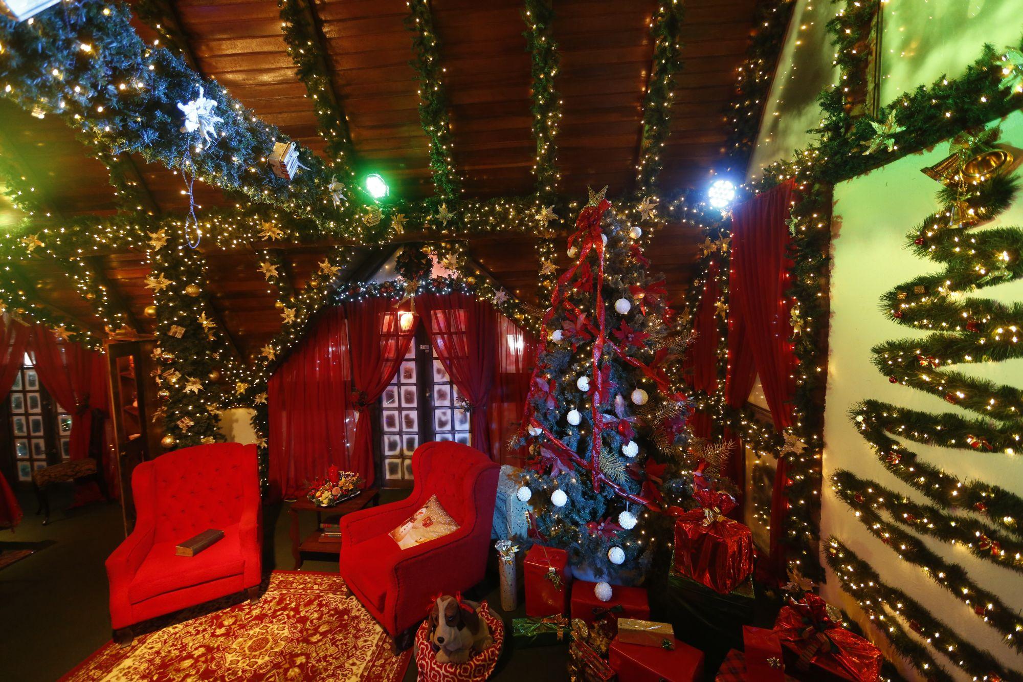 Tradicional Casa do Papai Noel tem data para começar