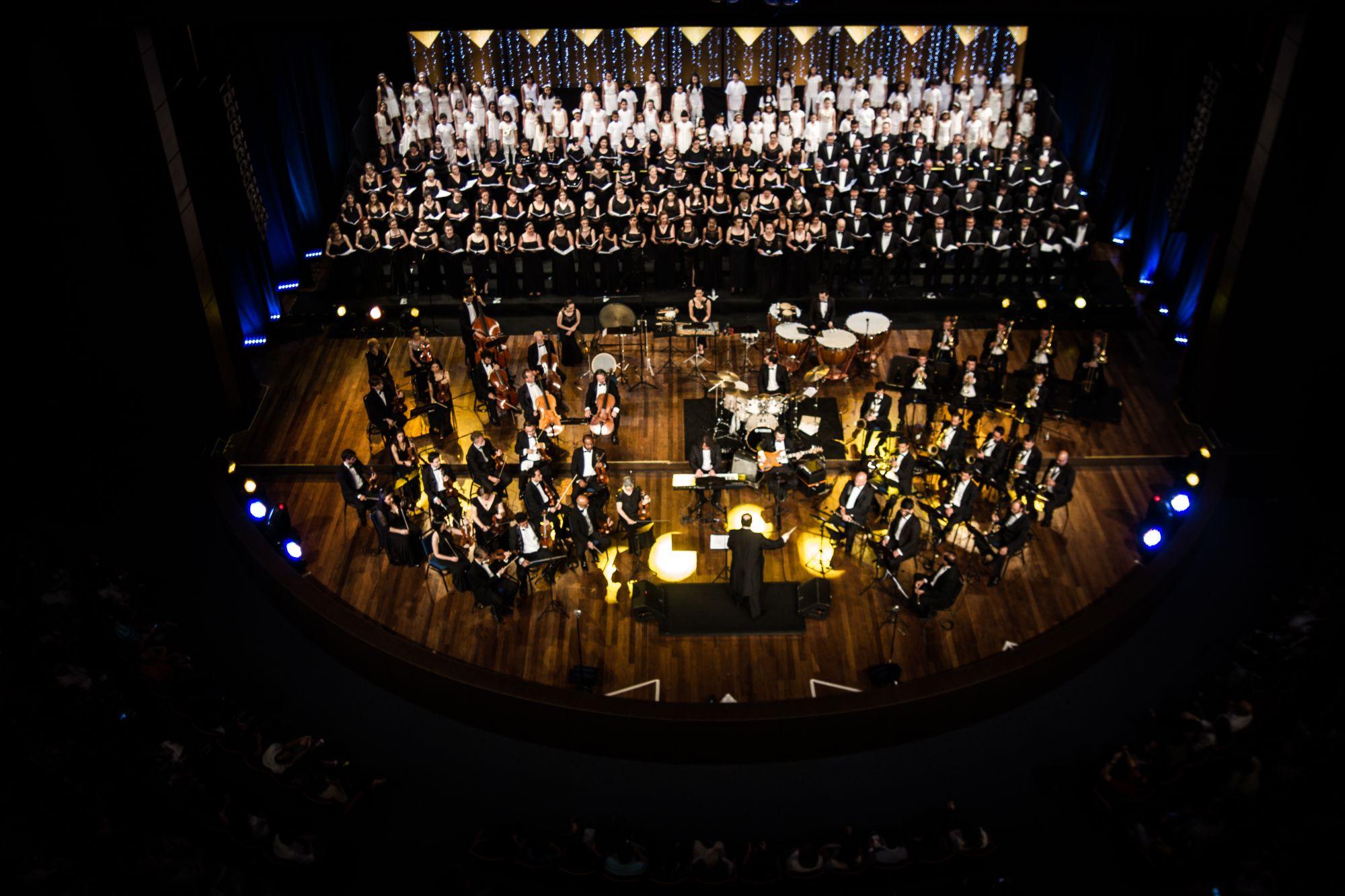 Grande concerto de Natal de Curitiba reúne mais de 100 músicos e 17 composições