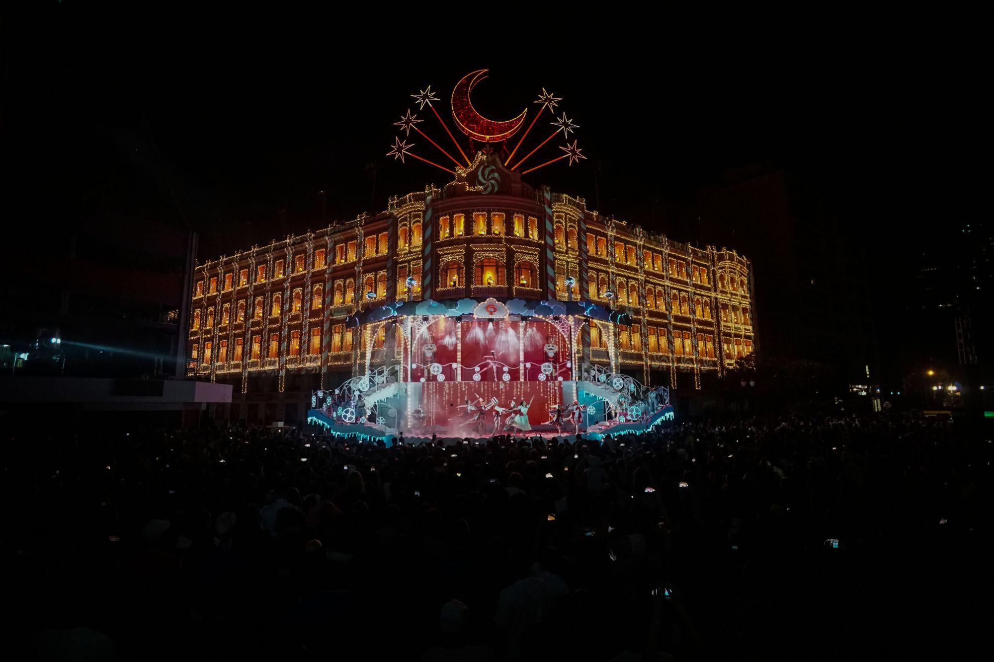 Vídeo: Assista ao espetáculo de Natal do Palácio Avenida 2018