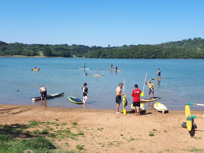 Curitiba tem 'praia' e ela está a 14 km do centro