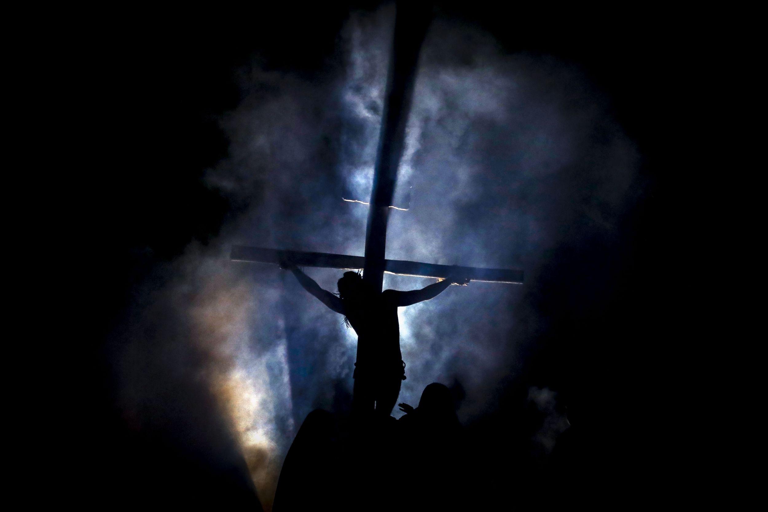 Confira como foi o espetáculo da Paixão de Cristo
