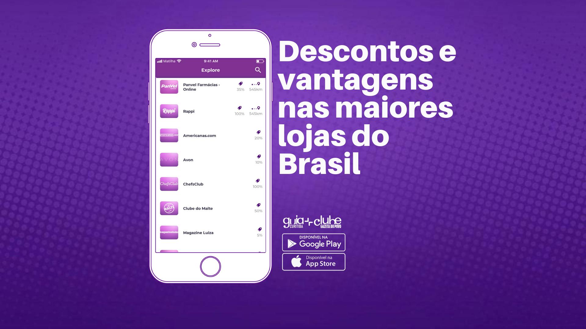 Clube Gazeta do Povo tem descontos no Uber, Submarino, Magazine Luiza e Americanas