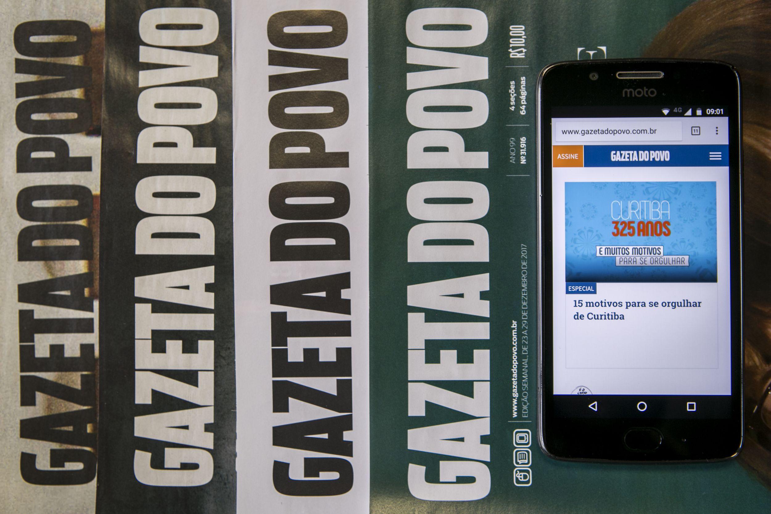 Documentário mostra o último dia da edição impressa diária da Gazeta do Povo