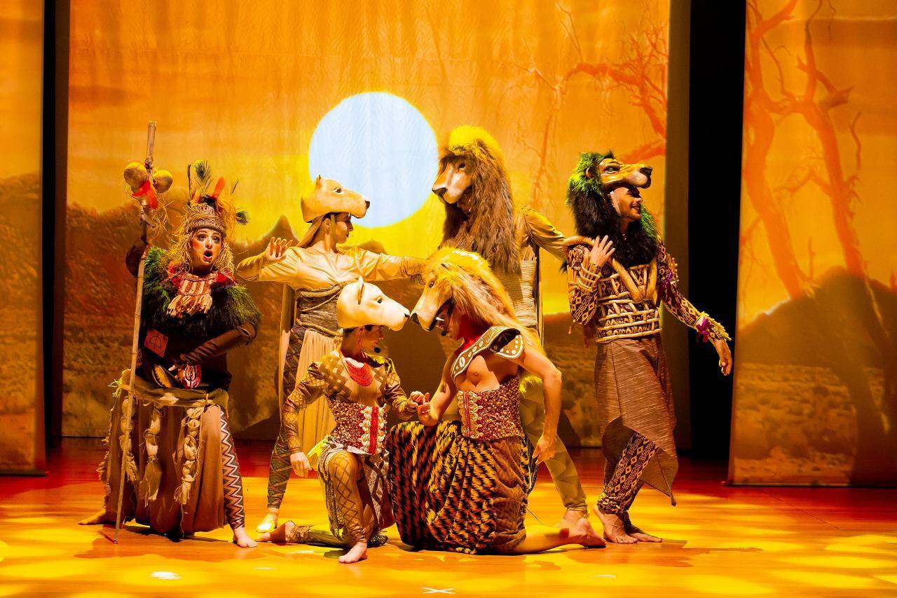 Curitiba recebe musical do Rei Leão