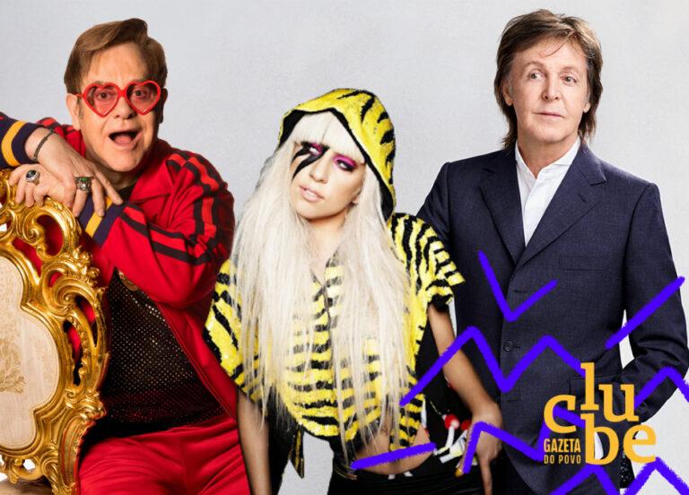 Festival beneficente reúne Paul McCartney, Lady Gaga, Elton John e outros astros da música