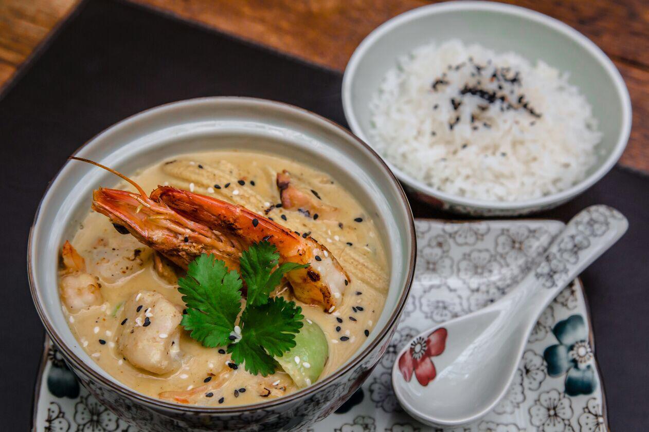 A melhor comida tailandesa em Curitiba